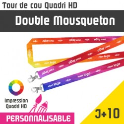 Tour de Cou Double Mousqueton J+10