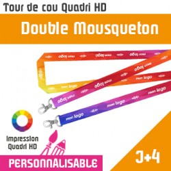 Tour de Cou Double Mousqueton J+4