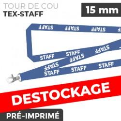 Tour de Cou Bleu - TEX-STAFF- lot de 10