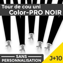 Tour de Cou Color-PRO Noir J+10
