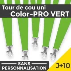 Tour de Cou Color-PRO Vert J+10