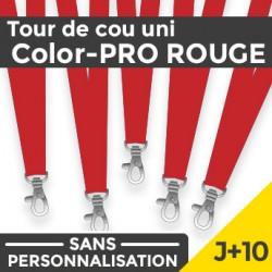 Tour de Cou Color-PRO Rouge J+10