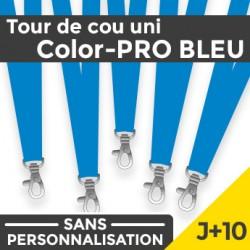 Tour de Cou Color-PRO Bleu J+10