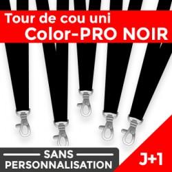 Tour de Cou Color-PRO Noir J+1