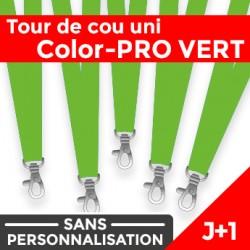 Tour de Cou Color-PRO Vert J+1