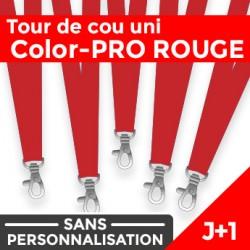 Tour de Cou Color-PRO Rouge J+1