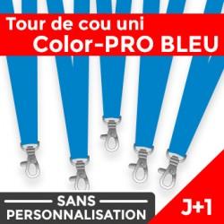 Tour de Cou Color-PRO Bleu J+1