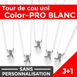 Tour de Cou Color-PRO Blanc J+1