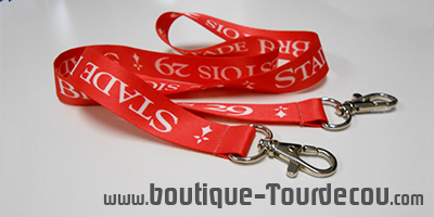 Tour de cou Double mousqueton