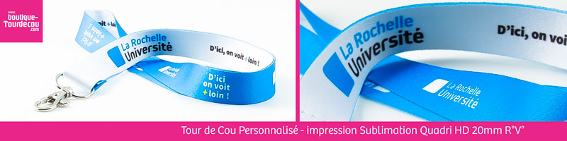 Tour de Cou - impression Quadri HD