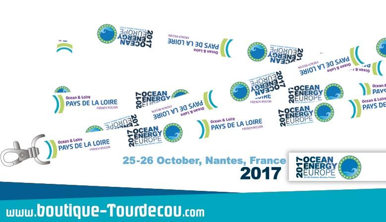 Ocean Energy 2017 - Tour de cou Personnalisé Simple Recto Verso