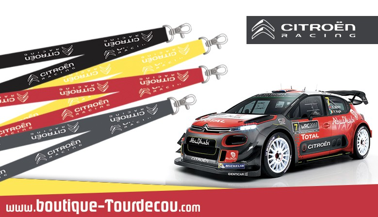 Citroen Racing - Tour de cou Simple